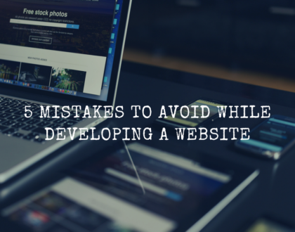 5 mistakes to avoid while developing a website